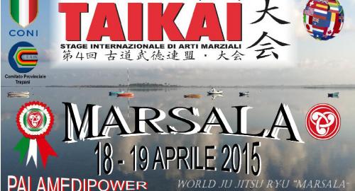 Quarto Taikai 2015 svolto a Marsala